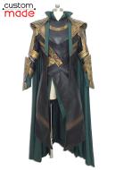 Superhero Deluxe Handmade Cosplay Costume Inspired by Loki Laufeyson Lady Loki Custom Made