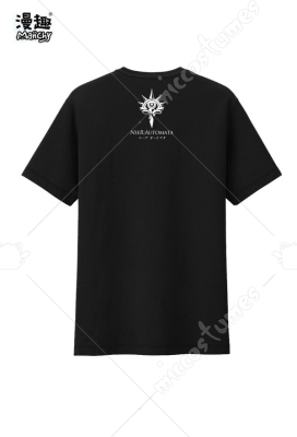 Manchy NieR: Automata Steam YoRHa No.2 Type B 2B Cosplay Costume T-shirt