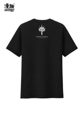 Manchy NieR: Automata Steam YoRHa No.2 Type B 2B Cosplay Costume T-shirt