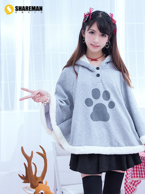 Neko Atsume: Kitty Collector Female Cosplay Cloak