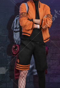 Naruto Uzumaki Naruto Daily Fashion Cosplay Costume