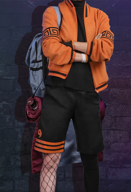 Naruto Costume de Cosplay Uzumaki Quotidien