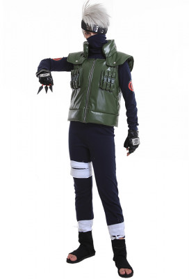 New Naruto Kakashi Hatake Cosplay Costume