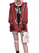 Naruto Sakura Haruno Hidden Leaf Village Ninja Sakura Coat Daily Anime Cosplay Costume