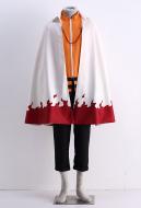 Naruto Uzumaki 11th Hokage Cosplay Cloak