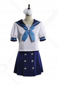 Onmyoji Hotarugusa JK School Girl Uniform Anime Sailor Suit Cosplay Costume