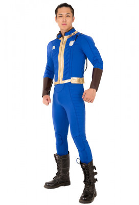 Fallout 76 Soldier 76 Cosplay Costume Jacket