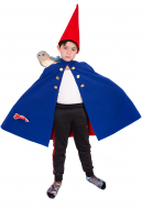 Child Over the Garden Wall Wirt Cosplay Costume Cloak for Kids