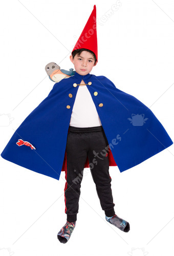 child over the garden wall wirt cosplay costume cloak for kids - Over The Garden Wall Cosplay