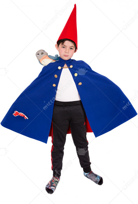 Child Over the Garden Wall Costume de Cosplay Wirt Cape pour Enfant