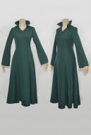 One Punch Man Blizzard of Hell Fubuki Dark-green Cosplay Costume