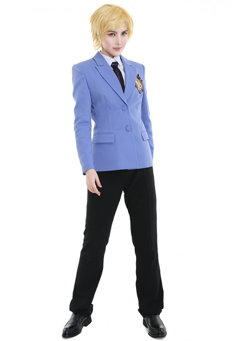 Ouran High School Host Club Cosplay Costume School Uniform for Women and Men