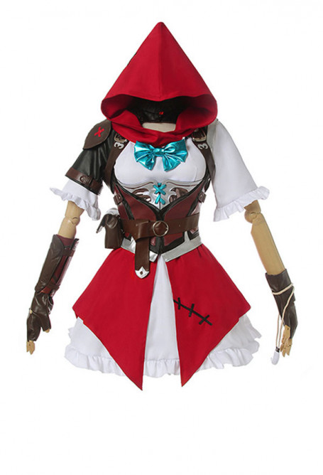 Overwatch Ashe Elizabeth Caledonia Calamity Little Red Ashe Cosplay Kostüm