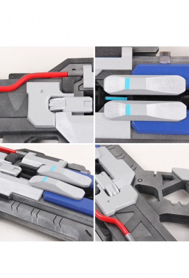 Overwatch Soldier: 76 Cosplay Weapon Heavy Pulse Rifle