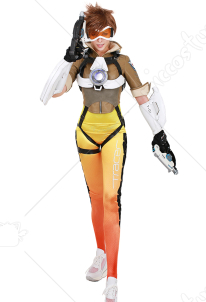 Overwatch Tracer Lena Oxton Cosplay Costume