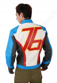 Overwatch Soldier: 76 Cosplay Jacket Coat