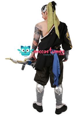 Overwatch Hanzo Shimada Cosplay Costume