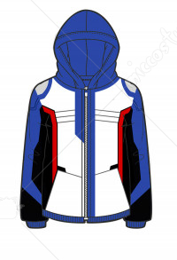 Manchy Overwatch Soldier 76 Cosplay Hoodie Coat