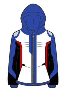 Manchy Overwatch Soldier 76 Cosplay Hoodie Coat