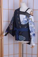 Overwatch T-shirt & Skirt Women Hanzo Cosplay Costume