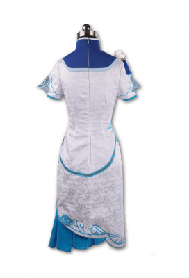 Overwatch Mei Mei-Lin Zhou Cheongsam Cosplay Costume