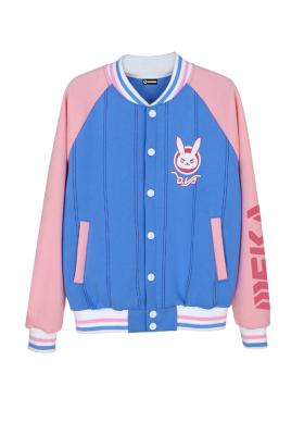 Overwatch D.va Cosplay Baseball Jacket