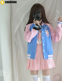 Overwatch D.va Cosplay Baseball Jacket