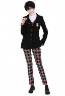 [Free US Economy Shipping] Persona 5 Protagonist Joker Akira Kurusu The Phantom Cosplay Costume School Uniform