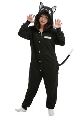 Kisatsutai Overall mit Kapuzen Pyjamas Lange Arm Jumpsuit Kostüm Cosplay Halloween Anzug