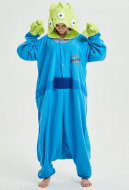 Toy Story Aliens Cute Long Sleeve Kigurumi Pajamas Polar Fleece Costume for Winter