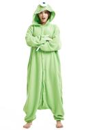 Monsters University Mike Wazowski Kigurumi Pajamas Polar Fleece Costume