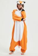 KigurumiMr Fox Onesie Pajama Cartoon Animal Polar Fleece Male Female Autumn Winter Animal Costume