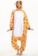 Cute Giraffe Kigurumi Pajamas Polar Fleece Costume for Autumn and Winter