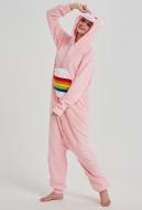 KigurumiRainbow Bear Onesie Pajama Cartoon Animal Polar Fleece Male Female Animal Costume