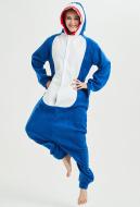 KigurumiShark Onesie Pajama Cartoon Animal Polar Fleece Homewear Male Female Animal Costume