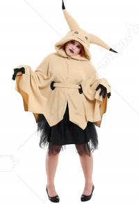 Pikachu Mimikyu Halloween Cosplay Costume Jupe Cape pour Adultes Grande Taille Curvy Cosplay