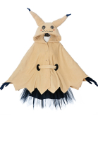 Pikachu Mimikyu Halloween Cloak Dress Costume for Adults