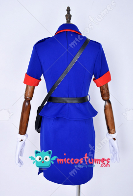 Officer Jenny Cosplay Costume Dress
