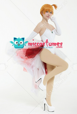 PM Misty Goldeen Swimsuit Cosplay Dress