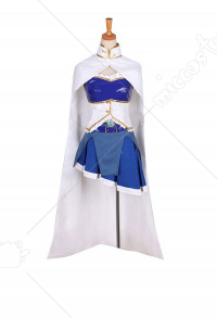 Puella Magi Madoka Magica Sayaka Miki Transformed Battle Suit Cosplay Costume