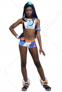 Sword and Shield Gym Leader Nessa Cosplay Costume