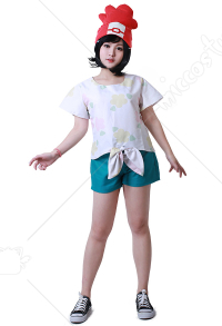 Sun and Moon Women Cosplay Costume