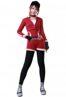 Pokemon Go Female Trainer Team Valor Cosplay Costume