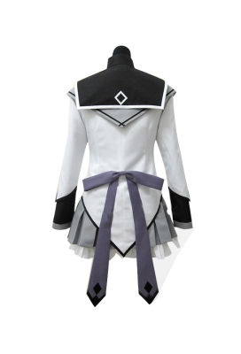 Puella Magi Madoka Magica Homura Akemi Cosplay Costume Fighting Uniform Including Socks