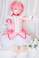 Puella Magi Madoka Magica Madoka Kaname Cosplay Dress Costume