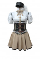 Puella Magi Madoka Magica Mami Tomoe Full Set Dress Cosplay Costume