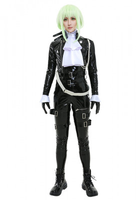 PROMARE Lio Fotia Leather Cosplay Costume with Belts Set