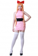 [Free Shipping]Girls Blossom Bubbles Buttercup Adults Cosplay Costume