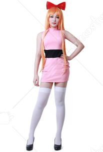 Girls Blossom Bubbles Buttercup Adults Cosplay Costume