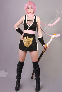 Re Zero Starting a Life in Another World Costume de Cosplay Ram Ninja Féminin